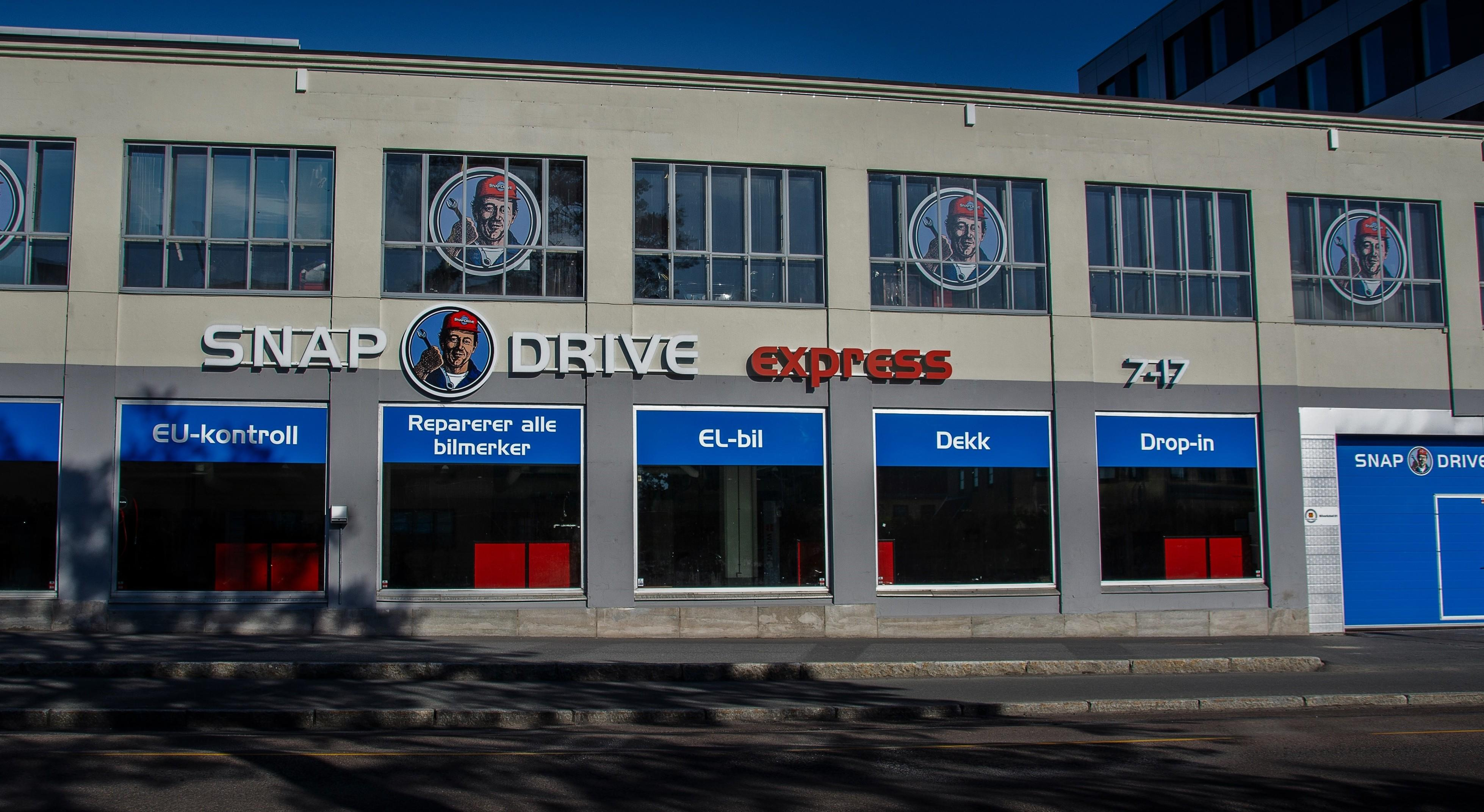 Snap Drive Helsfyr Express